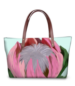 Handbag - Hand Drawn Protea- (GB-115)