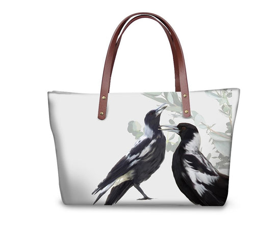 Handbag - Magpies- (GB-116)