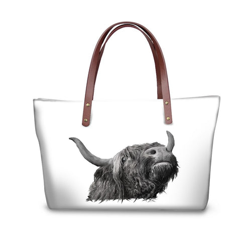 Handbag - Bill - The Highland Cow- (GB-117)