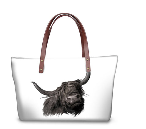 Handbag - Hamish - The Highland Cow- (GB-118)