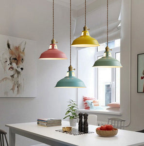 Lighting - Modern Multicolored Pendant Lights (L-1)