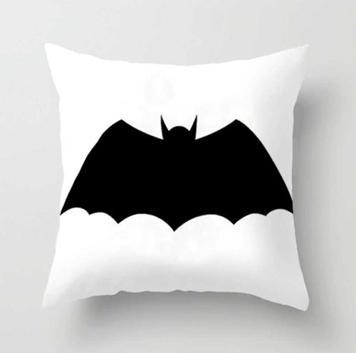 Decor - Black and White Batman  Cushion cover No.2 (D-24.1)