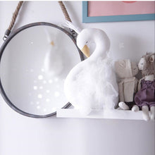 Decor -  Handmade Swan Stuffed Wall Decoration- White (D-9.1)