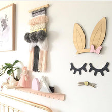 Decor -  Wooden Eyelashes (Black/White/ Pink/Gold) (D-37)