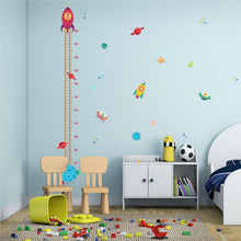 Wall Stickers Decor -  Outer Space Growth Chart (W-13)