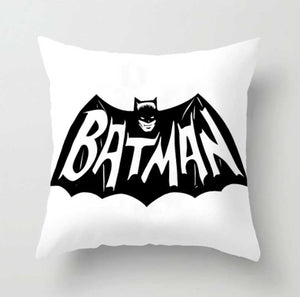 Decor -Black and White Batman  Cushion cover No. 3 (D-24.2)