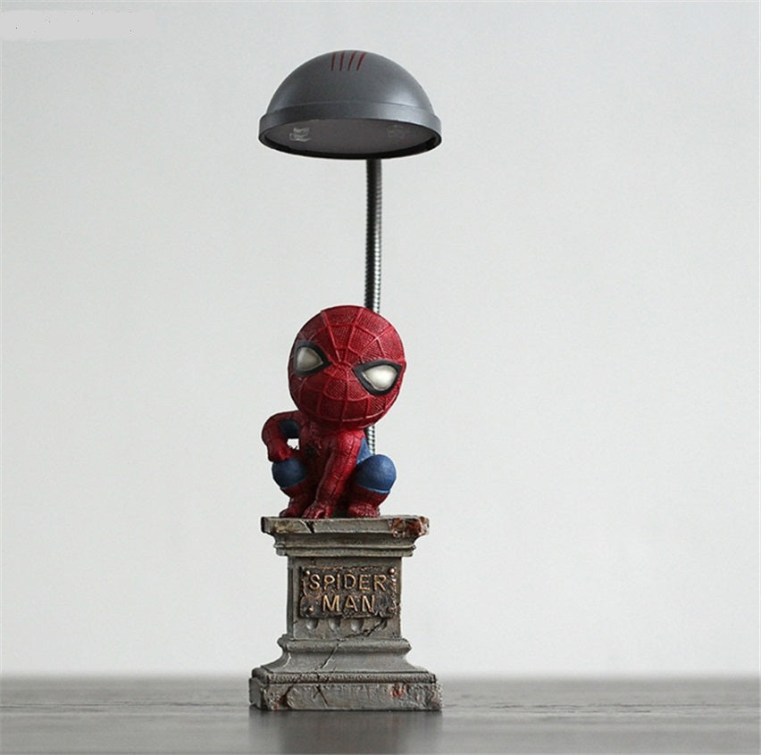 Lighting - Kids Spider-Man table lamp (L-16)