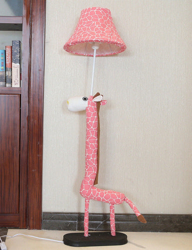 Lighting - Kids floor lamp Pink Giraffe (L-30)