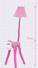 Lighting - Kids floor lamp Pink Monkey (L-31)