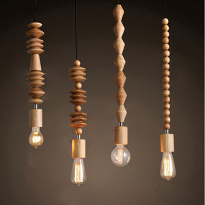 Lighting - Boho Style Modern pendant light No. 1 - (L-33)