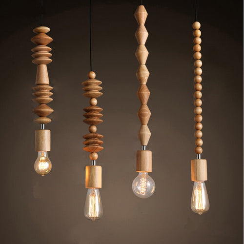 Lighting - Boho Style Modern pendant light No. 4 - (L-36)