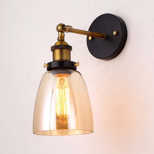 Lighting -Vintage style Glass Sconces / Wall Lamp (L-40)