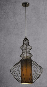 Lighting- Metal cage Pendant light (L-43)