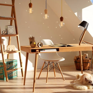 Lighting -  Wooden Pendant Light (L-47)