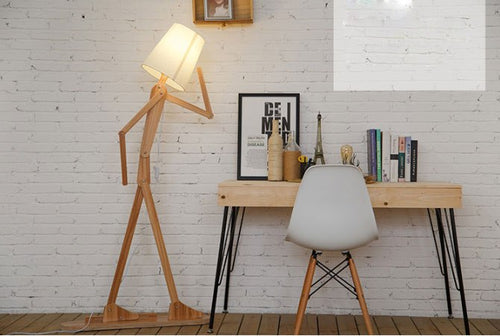 Lighting - floor lamp Man shape (L-54)