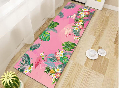 Floor Mat -Flamingos  - (M-06)