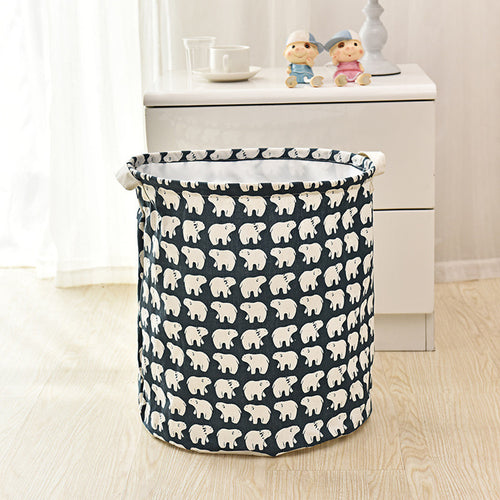 Storage / Decor - Waterproof Laundry Basket /Storage Basket (S-1)