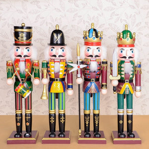 Handmade Wooden colorful Nutcracker doll (T-18)