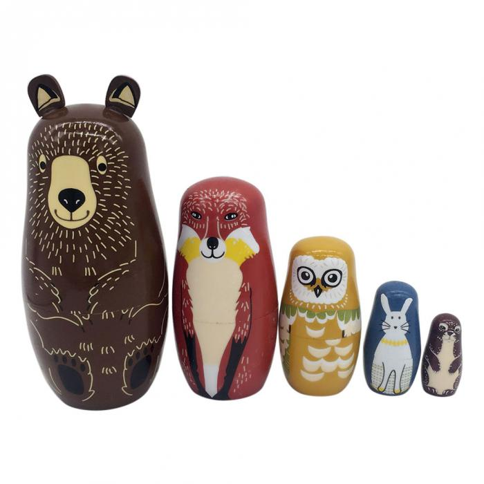 Russian Matryoshka Nesting Doll NO.4 (T-22)