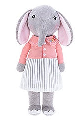 Sydney - Sweet Elephant  Plush Doll (T-30)