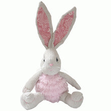 Hope -25 cm Dressed Rabbit plush doll -  Pink  (T-44)