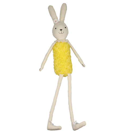 Lyric -70 cm Dressed Bunny plush doll -  Yellow Dress  (T-52)