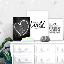 Wall art-Stay Wild -(A-376)