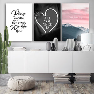 Wall art-One Fine Day -(A-378)