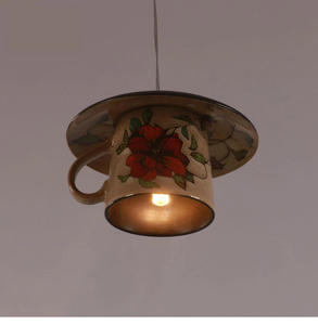 Lighting - Vintage ceramic  Tea cup Pendant lights (L-5)