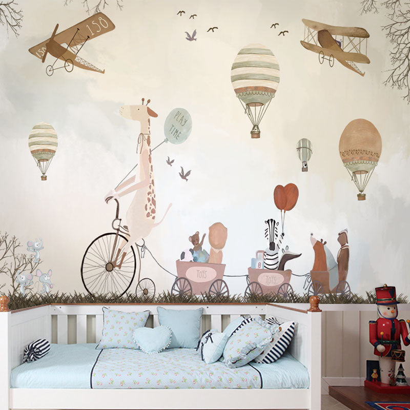 Wall Mural -  Animals Play Time (WM-15)