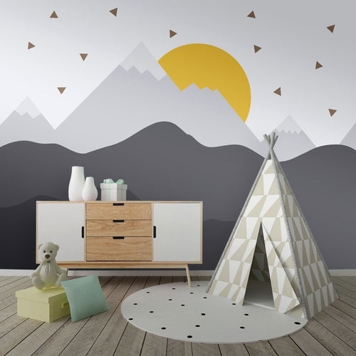 Wall Mural -Mountain Sunrise (WM-6)