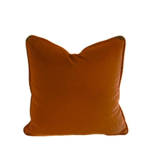Velvet Cushion Cover - Caramel - 4 sizes available (DC-166)