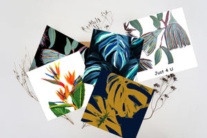 Greeting Cards - 5 PK Assorted Floral Designs