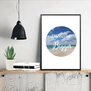 Wall Art -  Dream Bigger  (A-699)