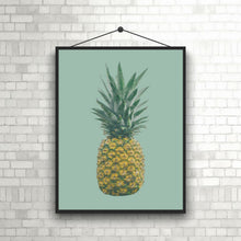 Wall Art - Pineapple on Mint (A-368)