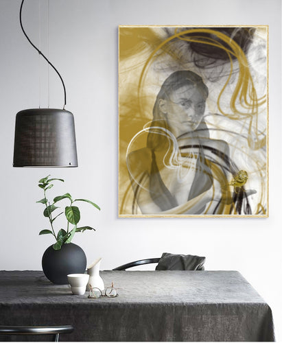 Wall Art - Golden  (A-735)
