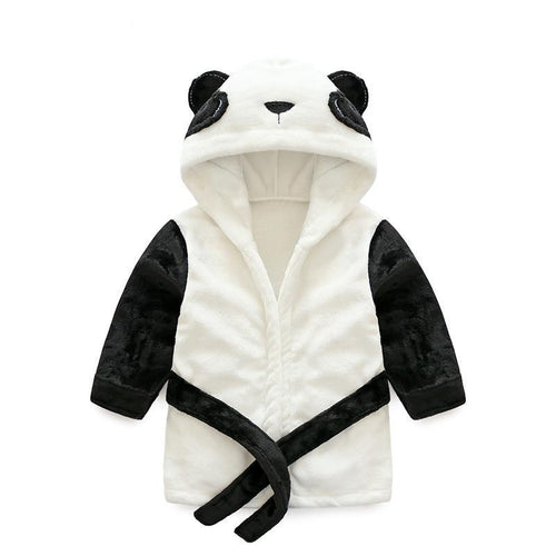 Panda Hooded Bademantel