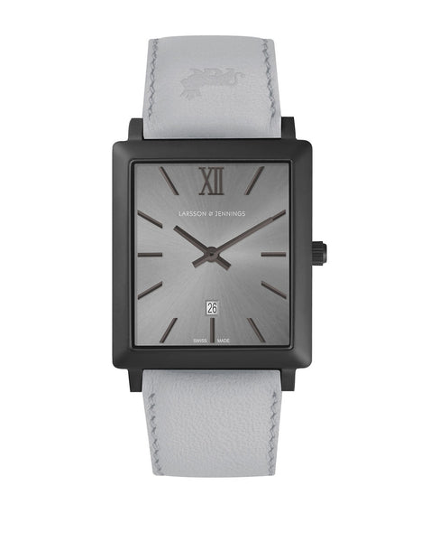 LARSSON AND JENNINGS Norse Black and Grey Analog Watch