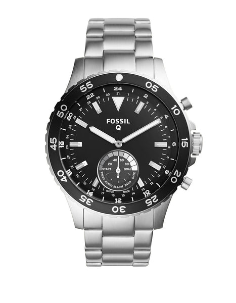 FOSSIL Hybrid Fossil Q Crewmaster Stainless Steel Watch