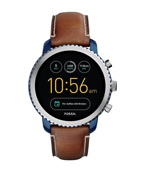 FOSSIL Gen 3 Smartwatch - Q Explorist Luggage Leather
