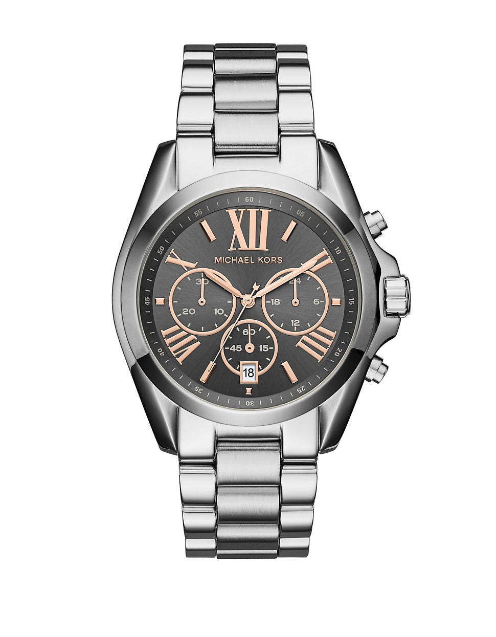 MICHAEL KORS Bradshaw Stainless-Steel Chronograph Watch
