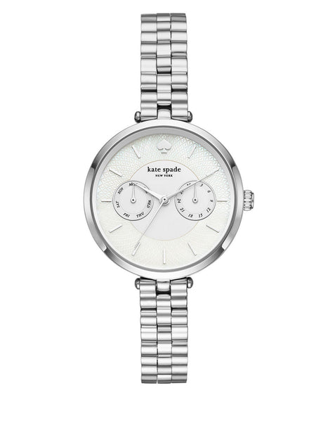 KATE SPADE NEW YORK Holland New York Stainless Steel Link Bracelet Watch