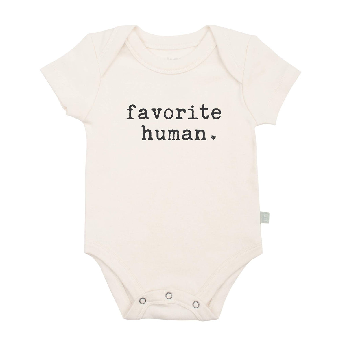 Organic Cotton Graphic Onesie