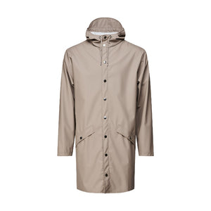 Rains Rain Jacket Long - Taupe