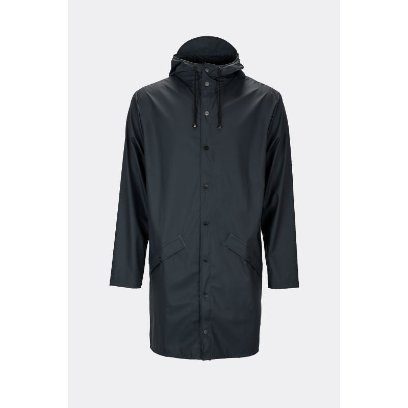 Rains Rain Jacket Long - Black - CPHAGEN