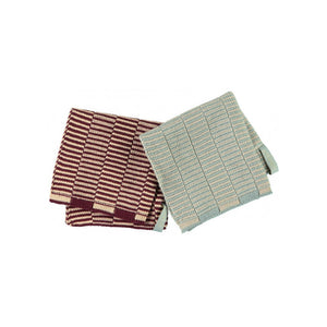 OYOY Living Stringa 100% organic cotton Dishcloth 25x25cm (2 pack) - CPHAGEN