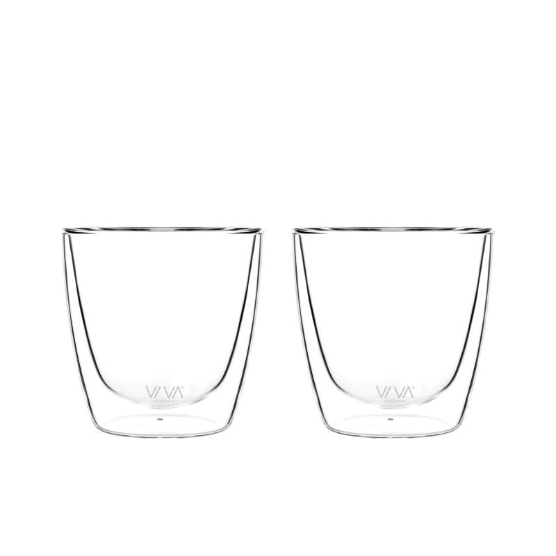 VIVA Scandinavia Classic Glass Double-walled cup (set of 2)