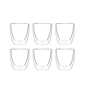 VIVA Scandinavia Classic Glass Double-walled cup - 110ml (set of 6)