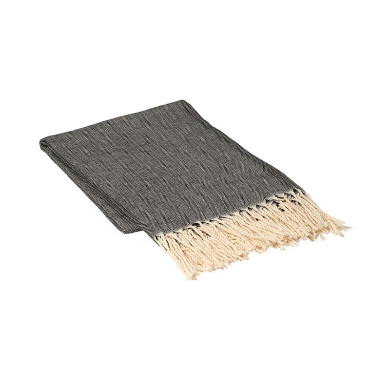 Broste Copenhagen Aase Wool Throw (140x180cm)