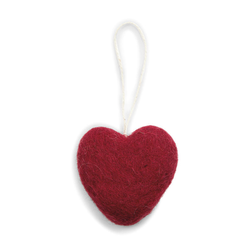 Felt Red Heart (5x5cm) - CPHAGEN